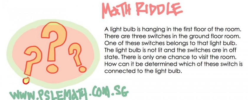 math riddle light bulb